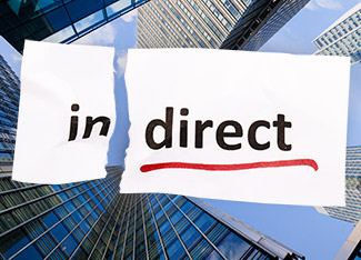 「間接金融(indirect finance)」と「直接金融(direct finance)」